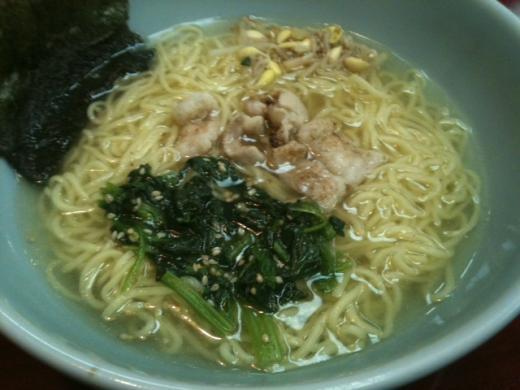 牛ホルモンラーメン(塩・しょうゆ)