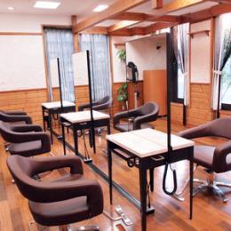 com's hair e-style 安城店