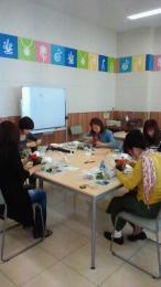 メルシーフラワーアレンジメント教室(カインズホーム半田店)